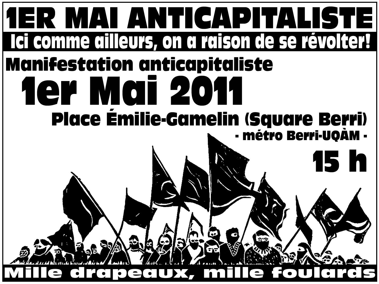 1er MAI ANTICAPITALISTE - Ici comme ailleurs, on a raison de se révolter!