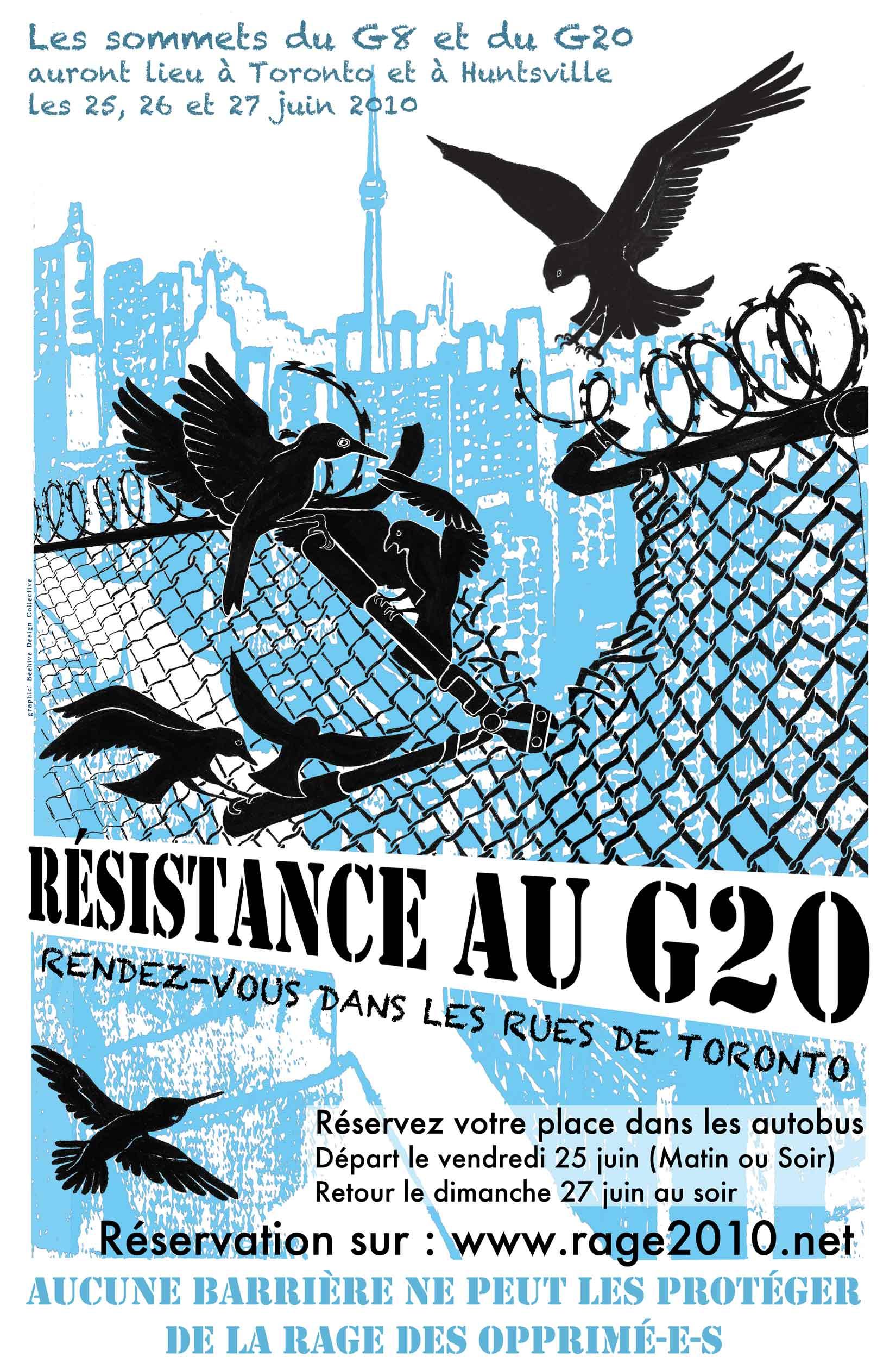 Résistance au G20